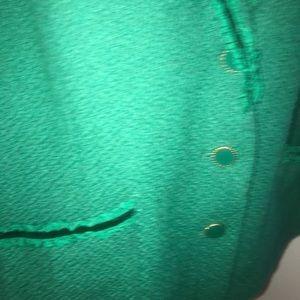 Joan Rivers emerald green blazer Size 20W